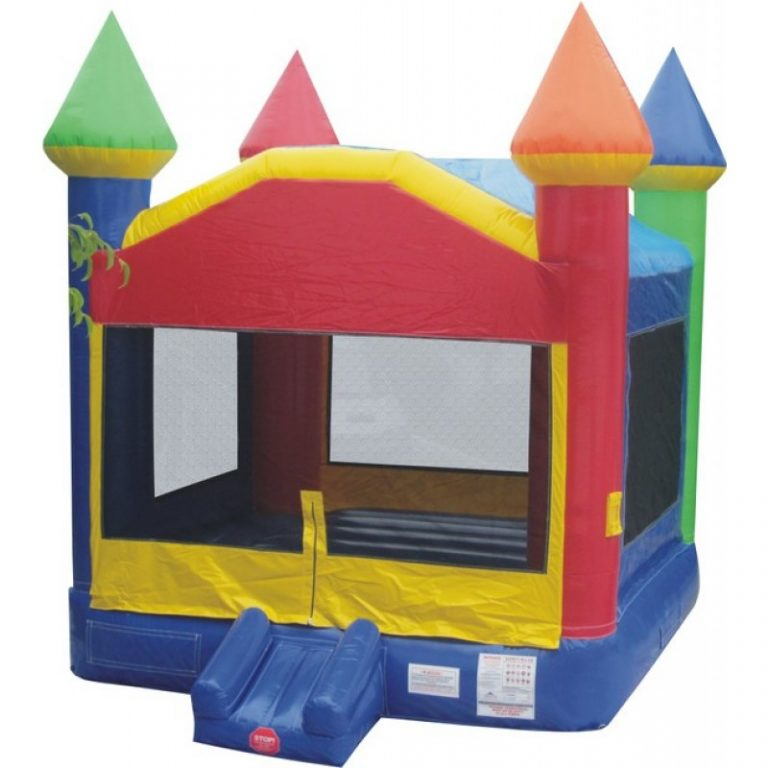 Rainbow Bounce House 4